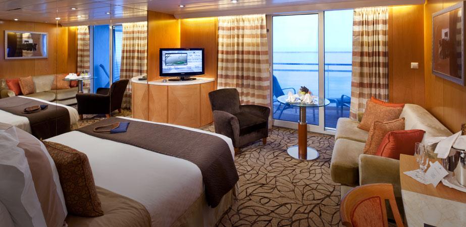 Aqua Class Staterooms - Celebrity Cruises